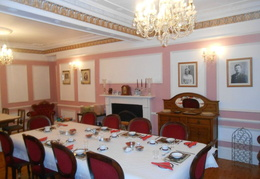 The dining room, where breakfast is served.